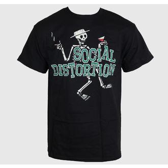 tričko pánské Social Distortion - Letterman Skully - BRAVADO