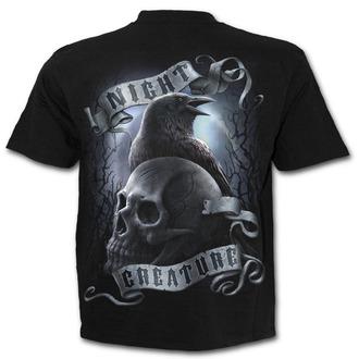 tričko pánské SPIRAL - Night Creature - Black