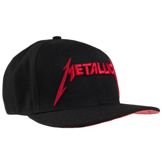 kšiltovka Metallica - Red Damage - Black