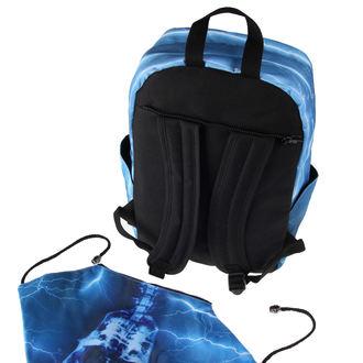batoh BANNED - Blue Skeleton