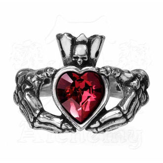 prsten ALCHEMY GOTHIC - Claddagh By Night