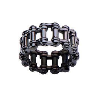 prsten INOX - MOTO CHAIN BLACK