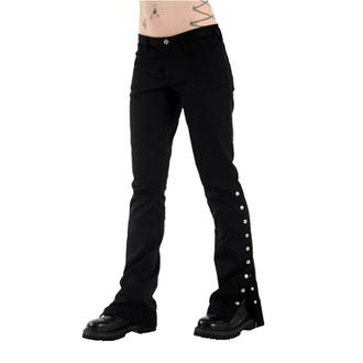 kalhoty dámské Black Pistol - Button Hipster Denim (Black)