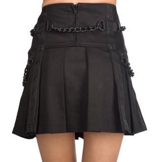 sukně dámská Black Pistol - Chain Denim - Black