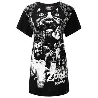 tričko dámské (top) KILLSTAR - ROB ZOMBIE - Co-Pilot Dead BF Top - BLACK