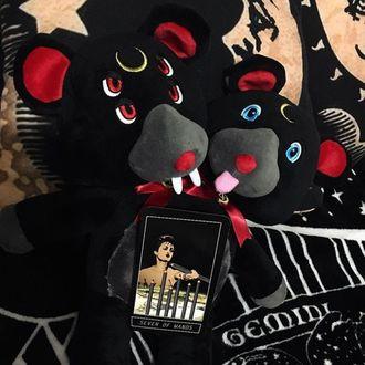 plyšová hračka KILLSTAR - Duality - BLACK