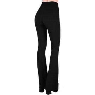 kalhoty dámské KILLSTAR - Slo-Burn Bell - BLACK