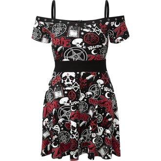 šaty dámské KILLSTAR - ROB ZOMBIE - Spookshow - BLACK