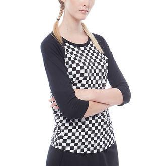 tričko dámské s 3/4 rukávem VANS - WM CHECKS RAGLAN - CHECKERBOARD