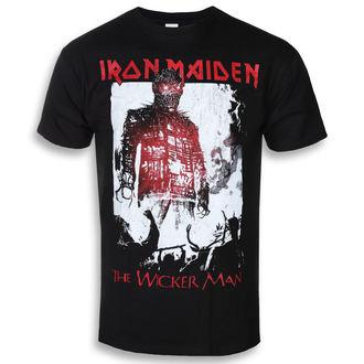 tričko pánské Iron Maiden - The Wicker Man Smoke - ROCK OFF