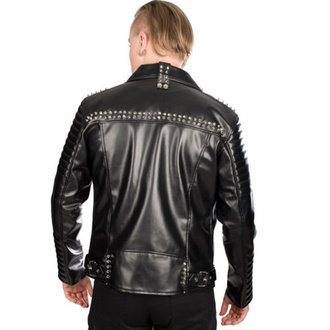 bunda pánská (křivák) BLACK PISTOL - Rockers - Sky Black