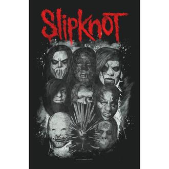 vlajka Slipknot - Masks - RAZAMATAZ