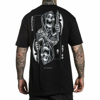 tričko pánské SULLEN - BLAQ JACK - BLACK