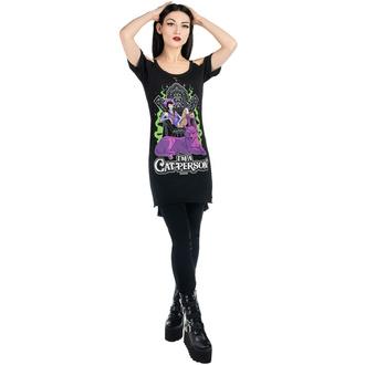tričko dámské KILLSTAR - CAT Person Distress - BLACK