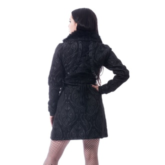kabát dámský Poizen Industries - CRAFT COAT - BLACK