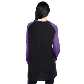 tričko s dlouhým rukávem unisex KILLSTAR - Double Trouble Raglan - BLACK
