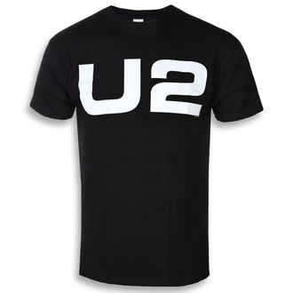 tričko pánské U2 - WHITE LOGO - PLASTIC HEAD