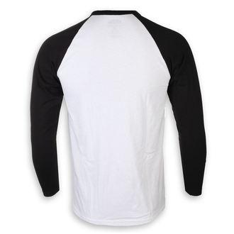 tričko pánské s dlouhým rukávem Johnny Cash - I Like Cash White & BL - ROCK OFF
