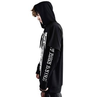mikina pánská KILLSTAR - Gory Hood Top - BLACK