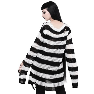 svetr unisex KILLSTAR - Pugsley Knit - BLACK