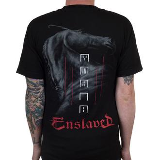 tričko pánské ENSLAVED - Horse - Black - INDIEMERCH