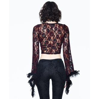 tričko dámské s dlouhým rukávem (top) DEVIL FASHION