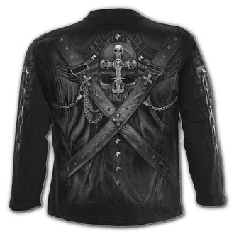 tričko pánské s dlouhým rukávem SPIRAL - STRAPPED - Black