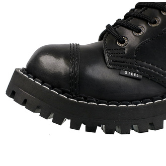 boty STEEL - 15 dírkové - black