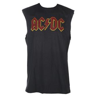 tílko unisex AC/DC - Logo - CHARCOAL - AMPLIFIED