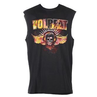 tílko unisex Volbeat - Skull Wings - CHARCOAL - AMPLIFIED