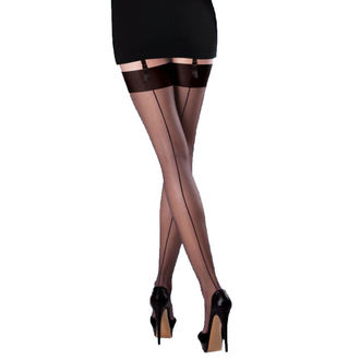 punčocháče LEGWEAR - Smooth knit - Black, LEGWEAR