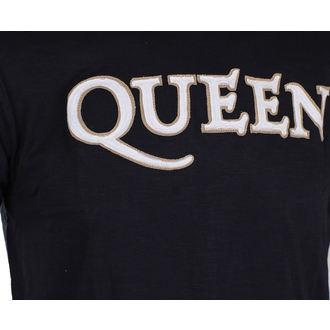 tričko pánské Queen - Logo & Crest - ROCK OFF, ROCK OFF, Queen