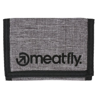 peněženka MEATFLY - Vega - Gray Heather, Black, MEATFLY