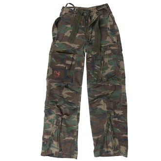 kalhoty SURPLUS - Infantry - WOODLAND - 05-3599-22