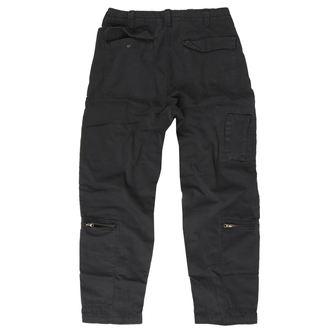 kalhoty pánské SURPLUS - INFANTRY CARGO - Black GE, SURPLUS