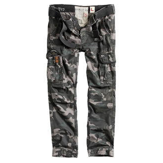 kalhoty pánské SURPLUS - PREMIUM SLIMMY - BLACK CAMO, SURPLUS
