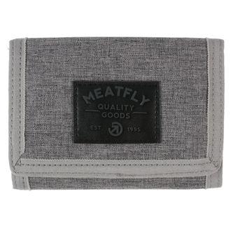 peněženka MEATFLY - Jules - Gray Heather, Black, MEATFLY