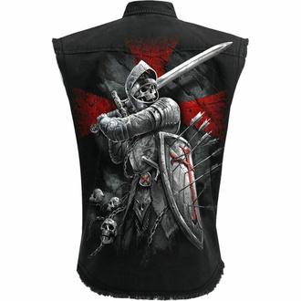 košile pánská bez rukávů (vesta) SPIRAL - VALIANT - Black, SPIRAL