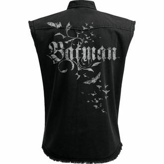 košile pánská bez rukávů (vesta) SPIRAL - Batman - GOTHIC - Black, SPIRAL, Batman