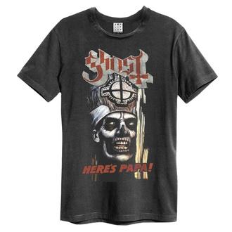 tričko pánské GHOST - HERE`S PAPA - CHARCOAL - AMPLIFIED - ZAV210B56