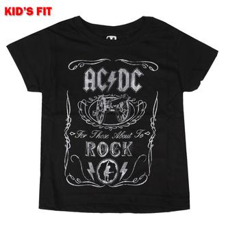 tričko dětské AC/DC - Vtge Cannon Swig - ROCK OFF, ROCK OFF, AC-DC