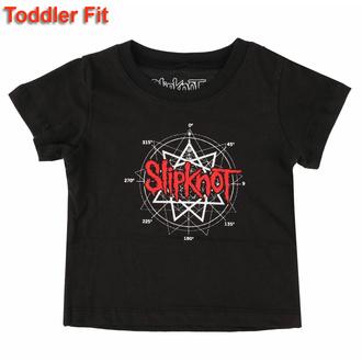 tričko dětské Slipknot - Star Logo - ROCK OFF, ROCK OFF, Slipknot