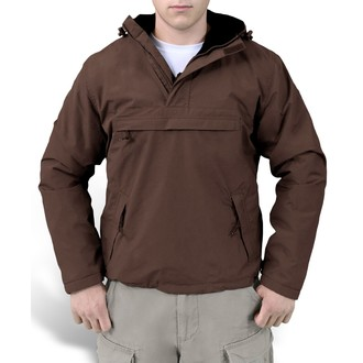 bunda pánská (větrovka) SURPLUS - Windbreaker - BROWN