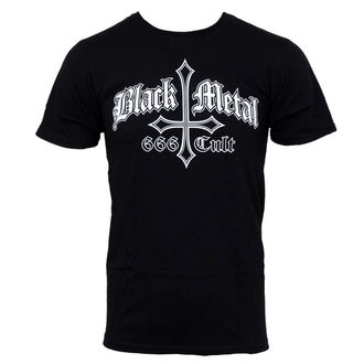 tričko pánské Black Metal 666 Cult - JSR - BLM105