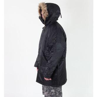 bunda pánská zimní ROTHCO - N-3B PARKA - BLACK