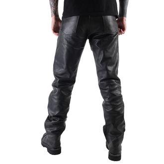 kalhoty pánské kožené OSX - Martin - Black, OSX