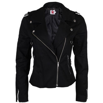 bunda dámská BLACK PISTOL - Biker - Black, BLACK PISTOL