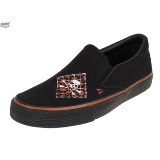 boty DRAVEN - Argyle Patch Slip on - MCDR 860, DRAVEN