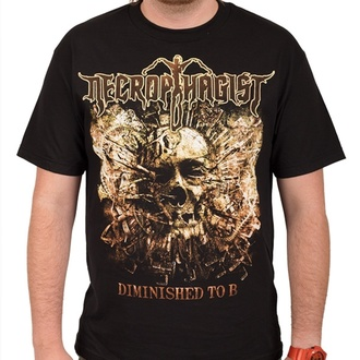 tričko pánské NECROPHAGIST - Diminished - Black - INDIEMERCH, INDIEMERCH, Necrophagist