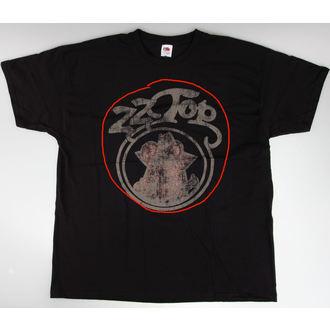 tričko pánské ZZ Top - Outlaw - Vintage Blk - BRAVADO EU - POŠKOZENÉ, BRAVADO EU, ZZ-Top